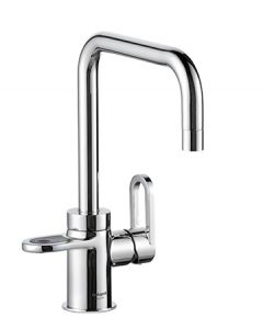 HotSpot Titanium Adrianna 3-in-1 Hot and Cold Tap - Polished Chrome + Filter