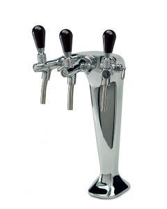 Cosmetal G663 3 way triple dispenser tap (Niagara IN)