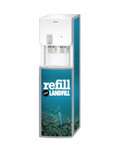 Refill Not Landfill Winix 6C White/Silver Free Standing Cold and Ambient Water Cooler