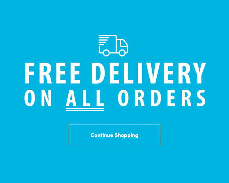 FREE delivery on all orders.