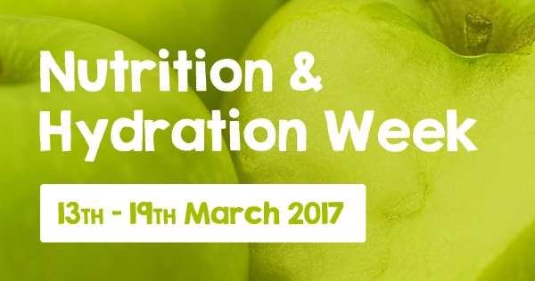 It's Nutrition and Hydration Week!