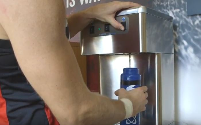 WCD Group provides hydration stations for Gloucester Rugby