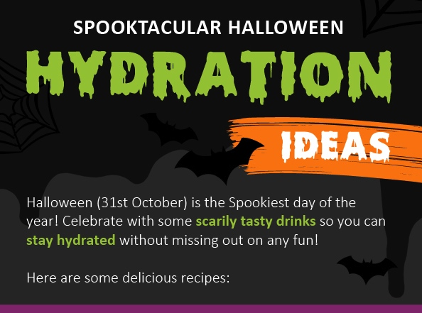 Halloween Hydration: Spooky Treats!