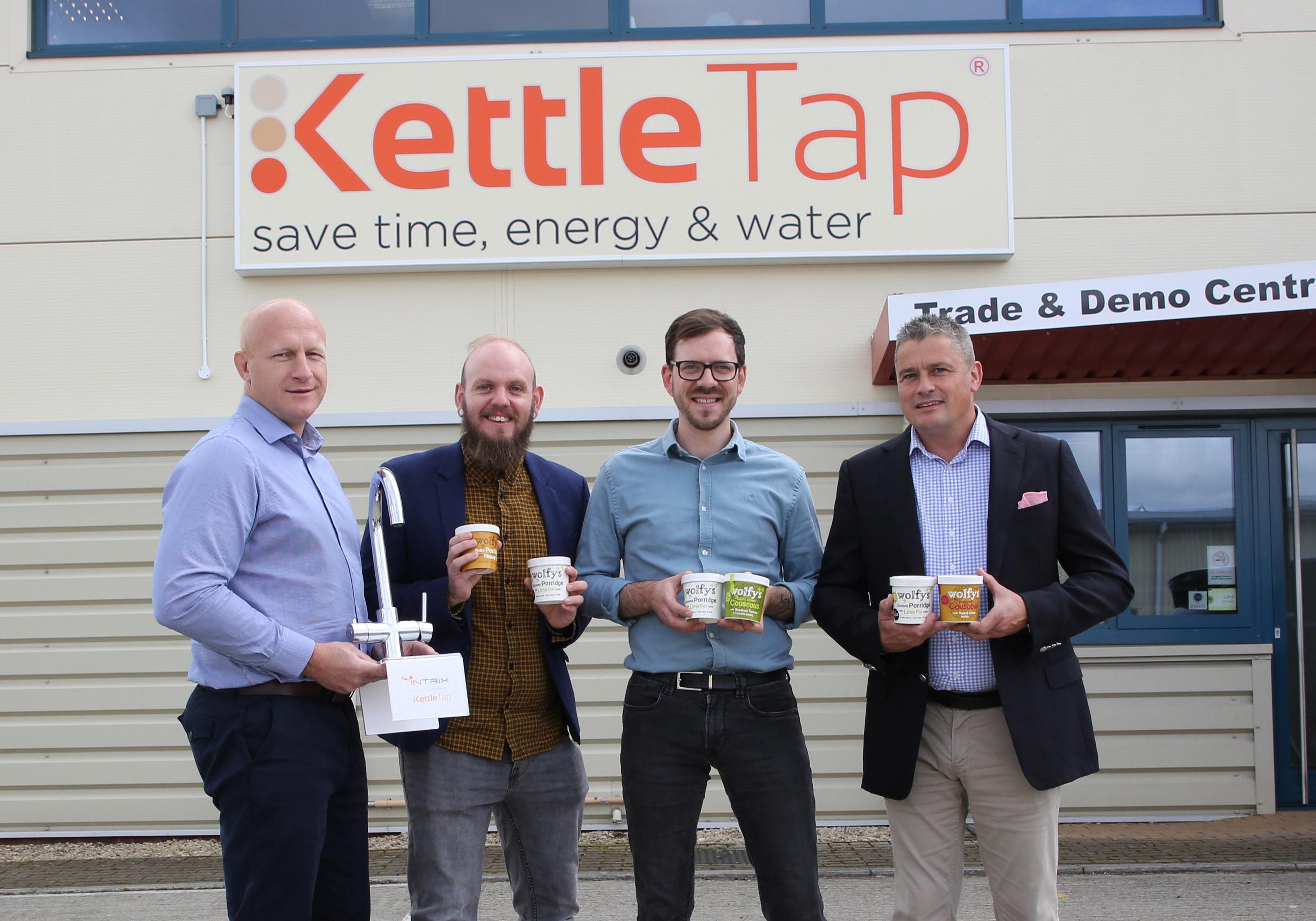 Wolfys and KettleTap in Porridge Partnership