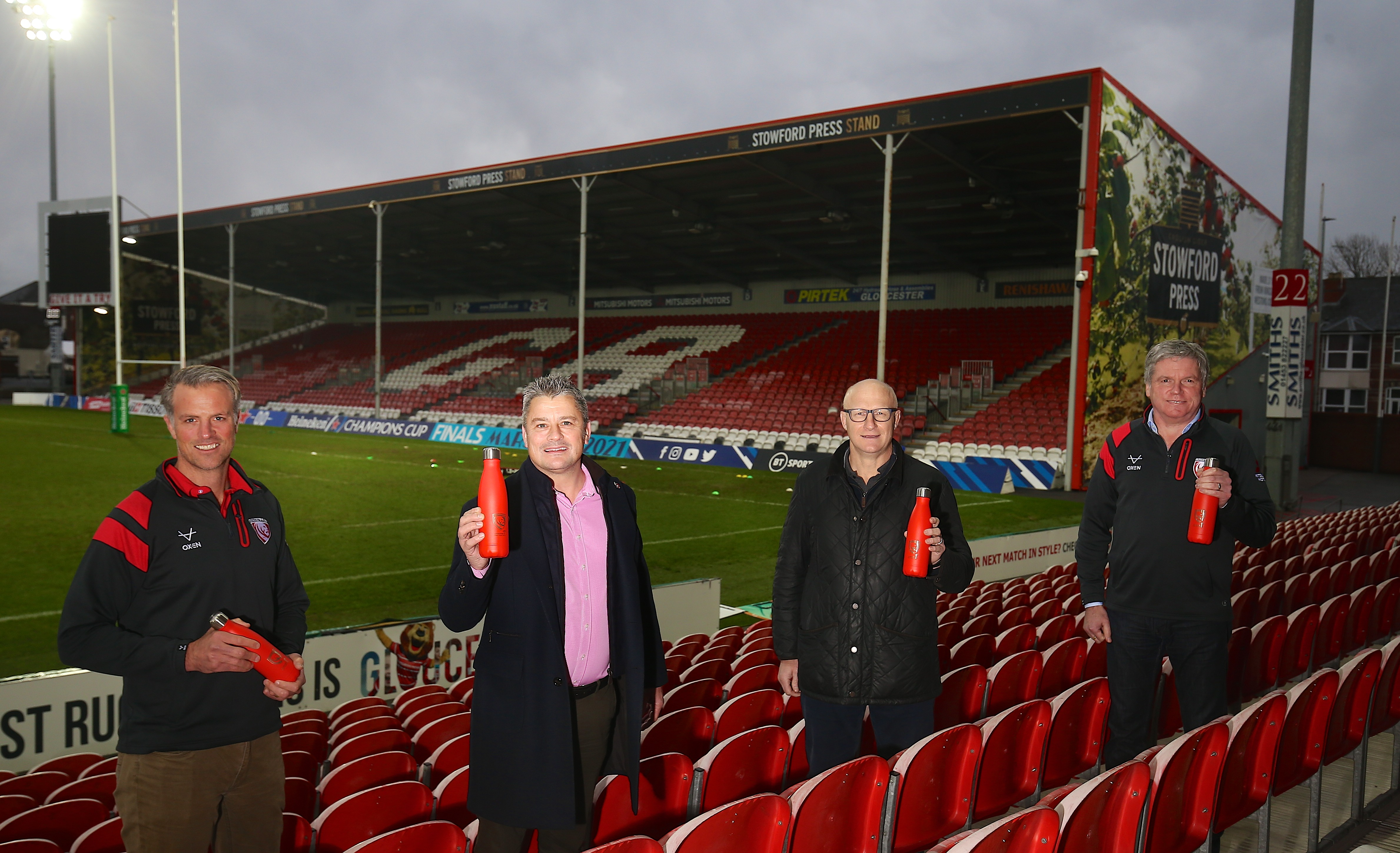 Gloucester Rugby Announces Sustainable Hydration Partnership