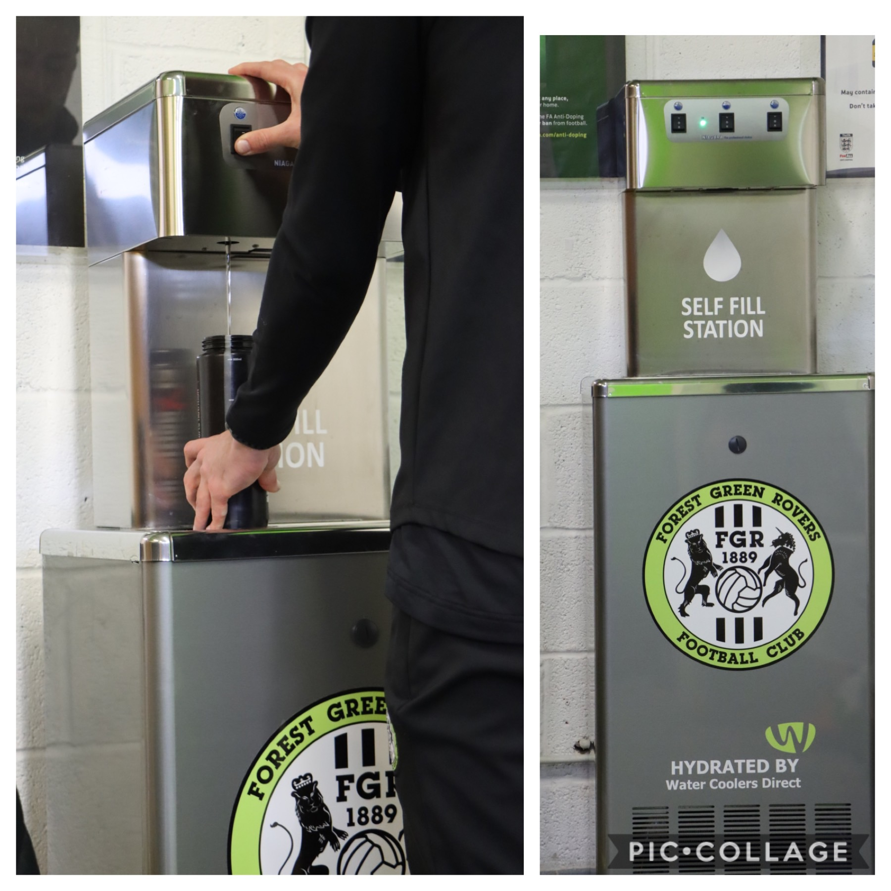Forest Green Rovers chooses WCD Group for sustainable hydration